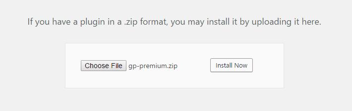 install-gp-premium